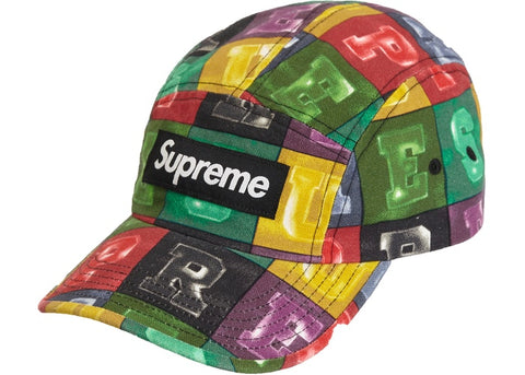 Supreme Blocks Camp Cap Multicolor