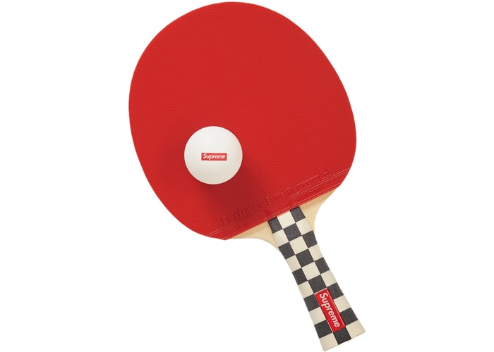 Supreme Butterfly Table Tennis Racket Set Checkerboard