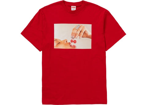 Supreme Cherries Tee Red