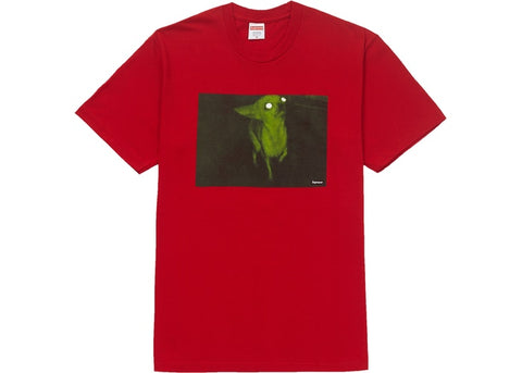 Supreme Chris Cunningham Chihuahua Tee Red