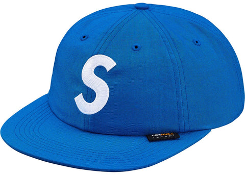 Supreme Cordura S Logo 6-Panel Light Blue