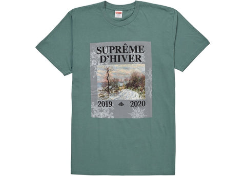 Supreme D'Hiver Tee Dusty Teal