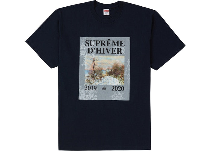 Supreme D'Hiver Tee Navy