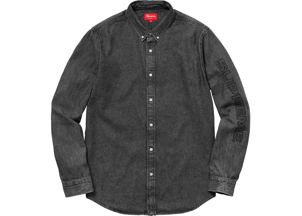 Supreme Denim Shirt Black