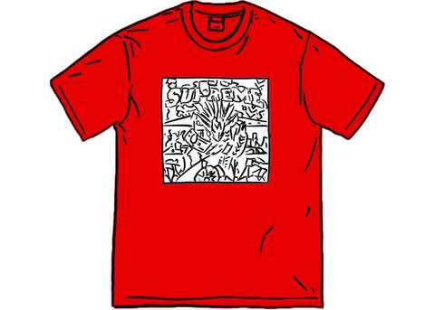 Supreme Dragon Tee Red