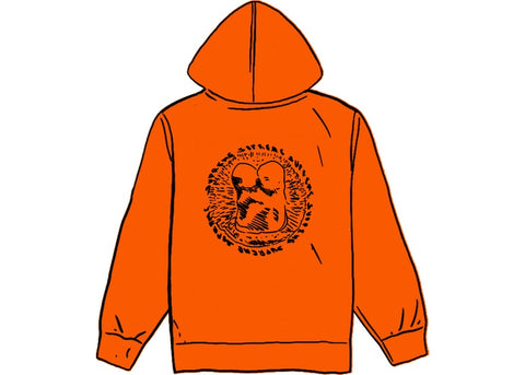 Supreme Embryo Hooded Sweatshirt Orange