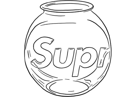 Supreme Fish Bowl Clear
