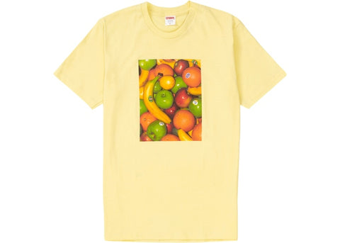 Supreme Fruit Tee Pale Yellow