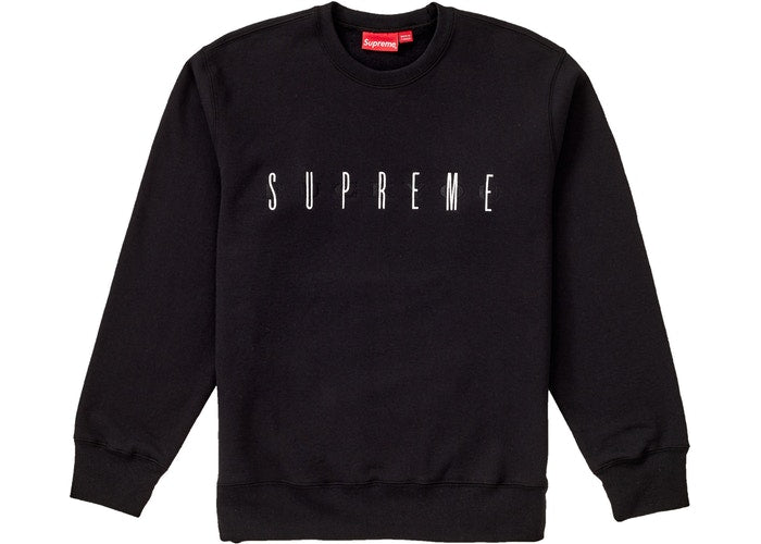 Supreme Fuck You Crewneck Black