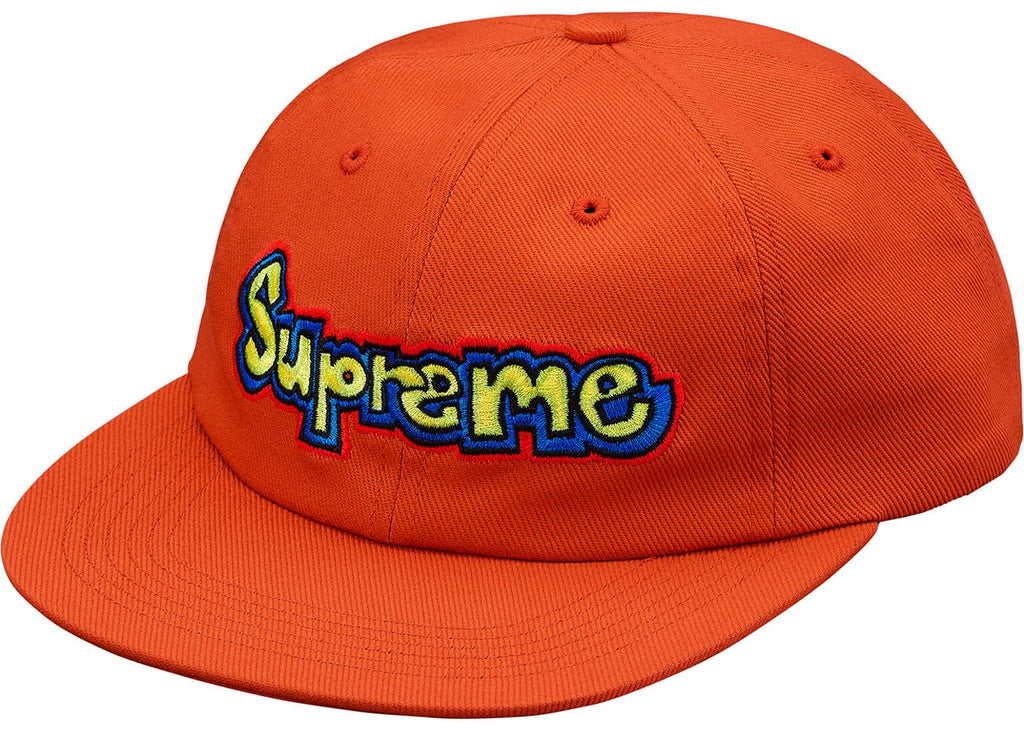 Supreme Gonz 6 Panel Cap Orange