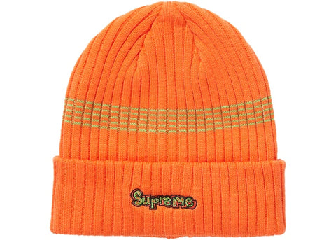 Supreme Gonz Logo Beanie Orange