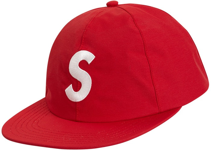 Supreme Gore Tex S logo 6 panel Red