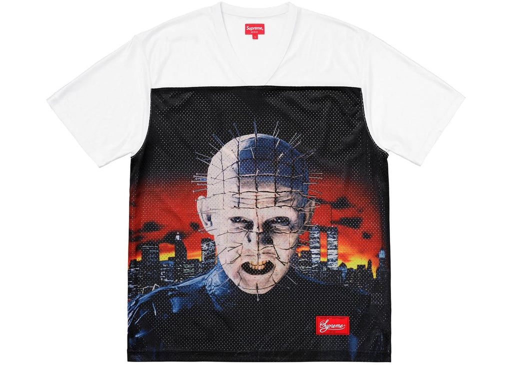 Supreme Hellraiser Football Jersey White