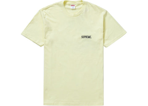 Supreme Heroines Tee Pale Yellow