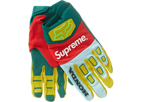 Supreme Honda Fox Racing Gloves Moss