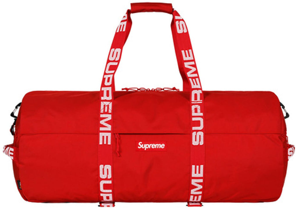 Supreme Duffle Bag Red Large