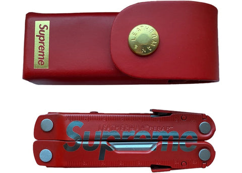 Supreme Leatherman Rebar Red