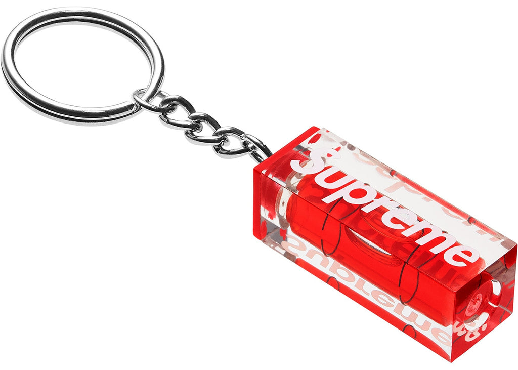 Supreme Level Keychain Red
