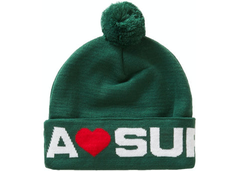 Supreme Love Supreme Beanie Dark Green