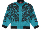 Supreme Makah Zip Up Jacket Teal