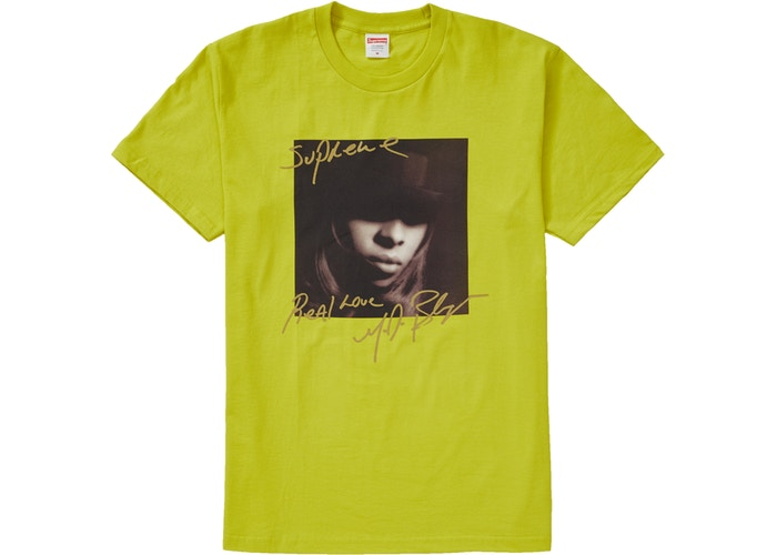 Supreme Mary J. Blige Tee Sulfer