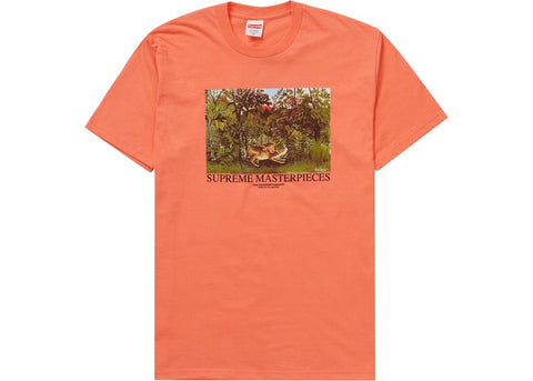 Supreme Masterpieces Tee Neon Orange