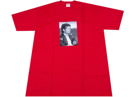 Supreme Michael Jackson Tee Red
