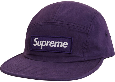 Supreme Military Camp Cap Purple