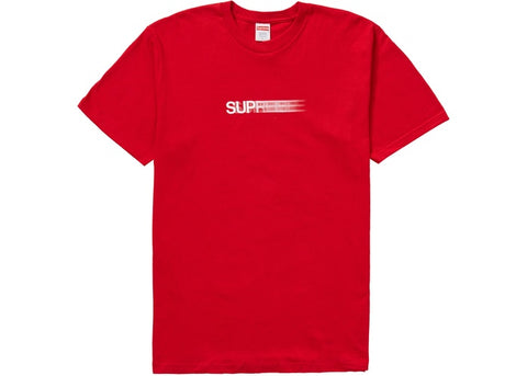 Supreme Motion Logo Tee (SS20) Red