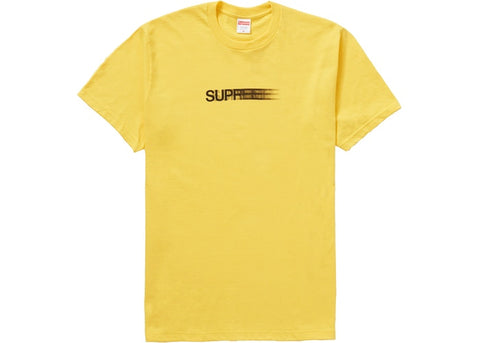 Supreme Motion Logo Tee (SS20) Yellow