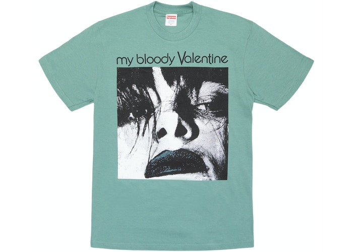 Supreme My Bloody Valentine Feed Me With Your Kiss Tee Dusty Teal