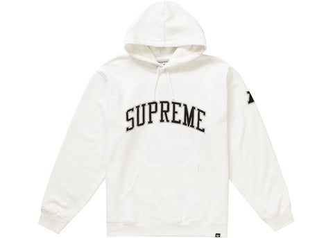 Supreme NFL x Raiders x '47 Hooded Sweatshirt White