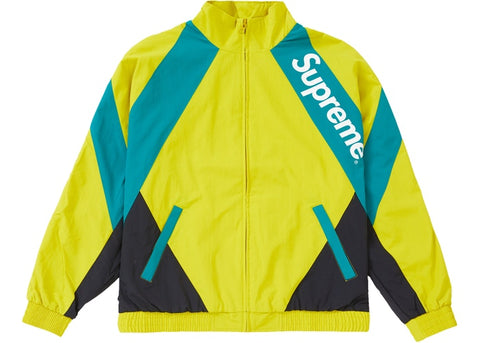 Supreme Paneled Track Jacket Light Gold