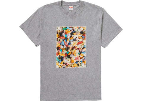Supreme Pills Tee Heather Grey