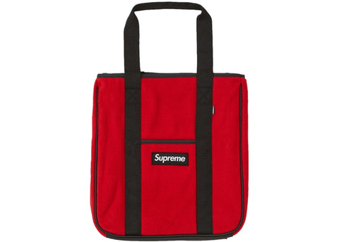 Supreme Polartec Tote Red