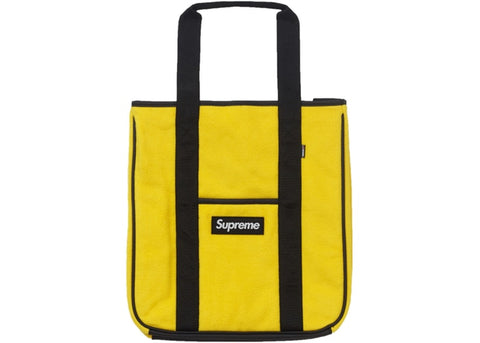 Supreme Polartec Tote Yellow