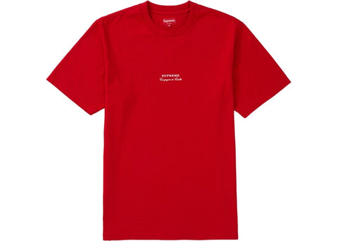 Supreme Qualite Tee Red
