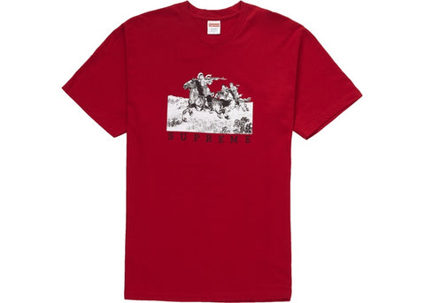 Supreme Riders Tee Red