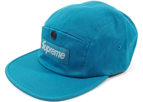 Supreme Snap Button Pocket Camp Cap Teal