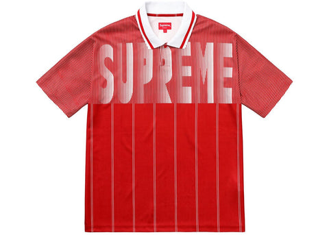 Supreme Soccer Polo Red