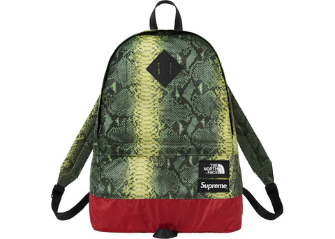 Supreme The North Face Snakeskin Lightweight Day Pack Green