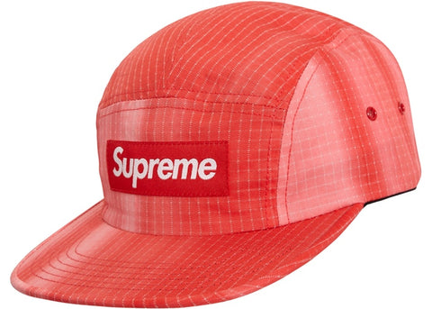 Supreme Tie Dye Ripstop Camp Cap Red