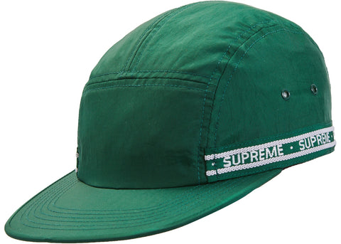 Supreme Tonal Tape Camp Cap Dark Green