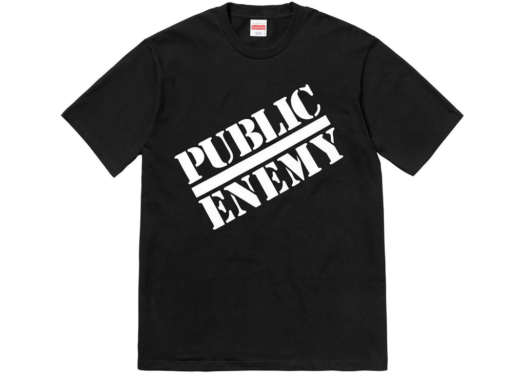 Supreme Public Enemy Blow Your Mind Tee Black