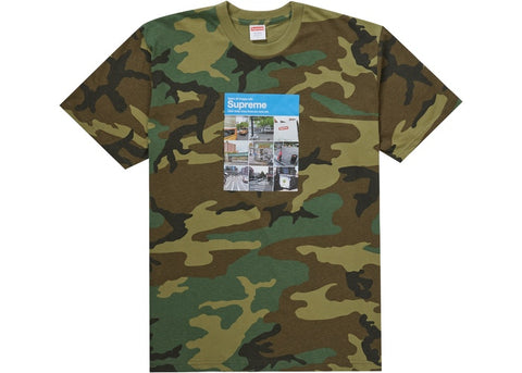 Supreme Verify Tee Woodland Camo