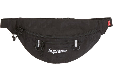 Supreme Waist Bag (SS19) Black