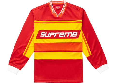 Supreme Warm Up Hockey Jersey Red