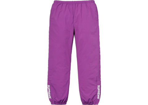 Supreme Warm Up Pant Purple
