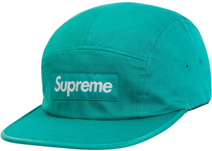 Supreme Washed Chino Twill Camp Cap (SS19) Green