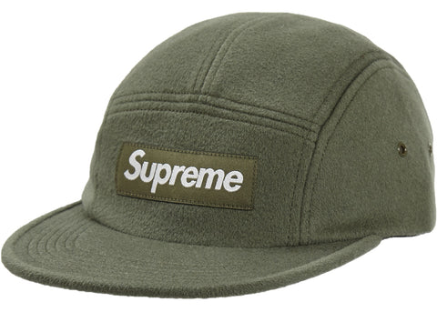 Supreme Wool Camp Cap (FW18) Olive